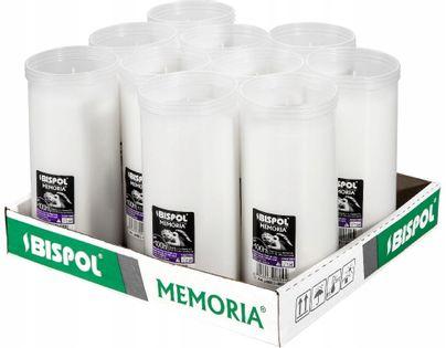 Wkłady do zniczy parafinowe BISPOL P600 100H 10szt.