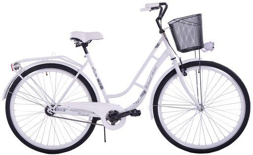Rower miejski Orlando Holand Retro Biały
