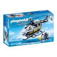 Playmobil  Helikopter jednostki specjalnej 9363