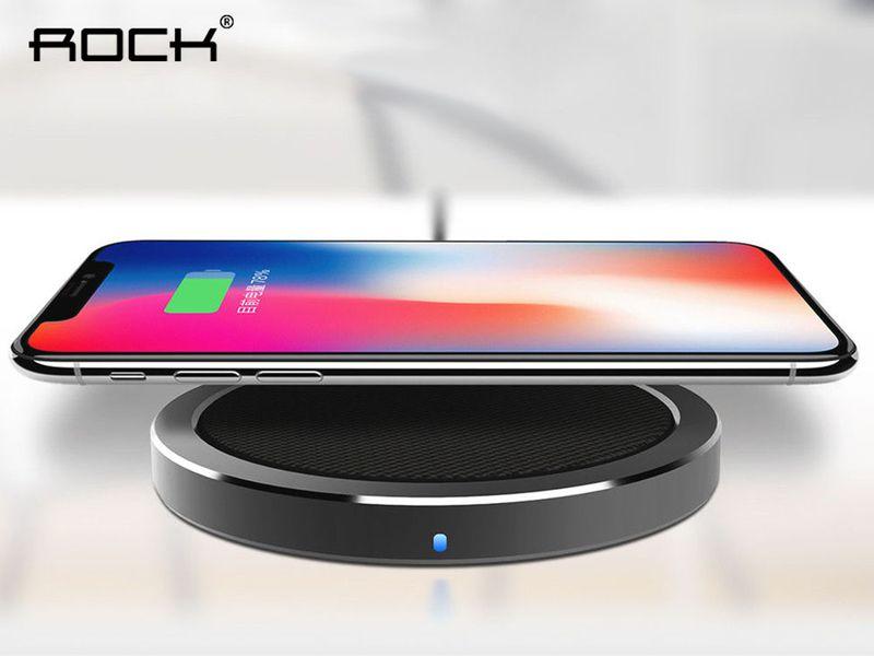 ROCK W4 ŁADOWARKA INDUKCYJNA QI iPhone X 8 8+ PLUS FAST