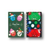 Skarpetki Happy Socks Santa Animals Giftbox 3-pak SXCAT08-7500 41-46