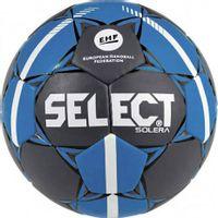 Piłka ręczna Select Solera Mini 0 2019 Official EHF szaro-niebieska
