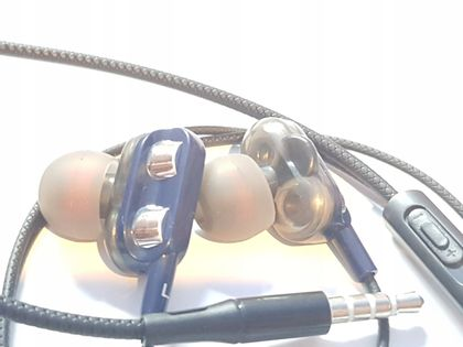 Słuchawki sportowe przewodowe 4w1