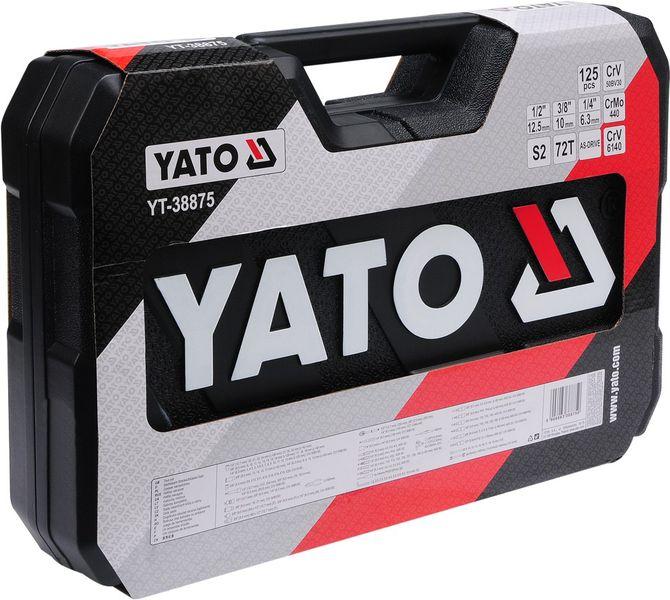 ZESTAW NARZĘDZIOWY 126 CZĘŚCI YATO  YT-38875 zdjęcie 7