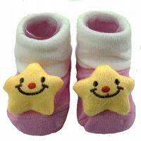 Skarpetki dla niemowlaka antypoślizgowe bawełniane