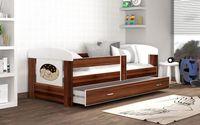 Łóżko FILIP 180x80 materac + szuflada
