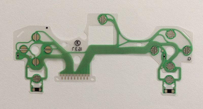 Taśma transmisyjna przyciski pada PS4 JDS-040 V4 zdjęcie 2