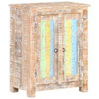 Szafka, 61x35x76 cm, surowe drewno akacjowe