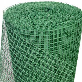 SIATKA OGRODZENIOWA PLASTIKOWA zielona 1,0x50m PCV