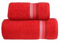 Ręcznik Ombre 70x140 czerwony Frotex Greno
