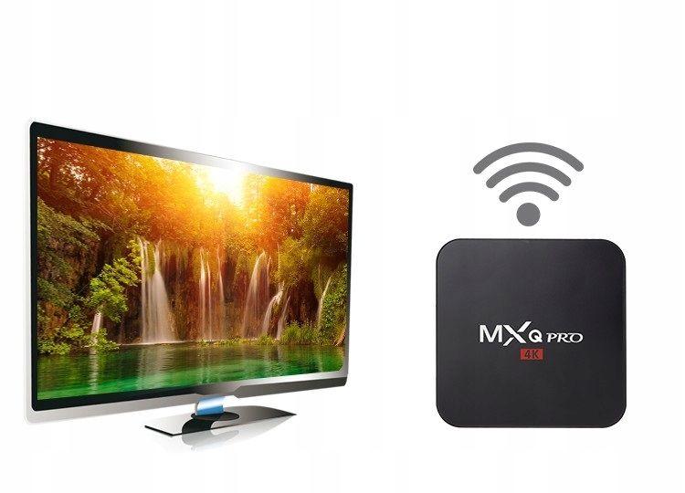 TV BOX MXQ PRO S905x Android 7 SMART 4K 1GB RAM zdjęcie 9