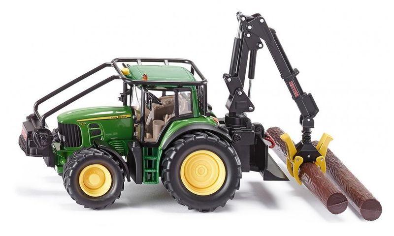 Traktor leśny John Deere zdjęcie 1