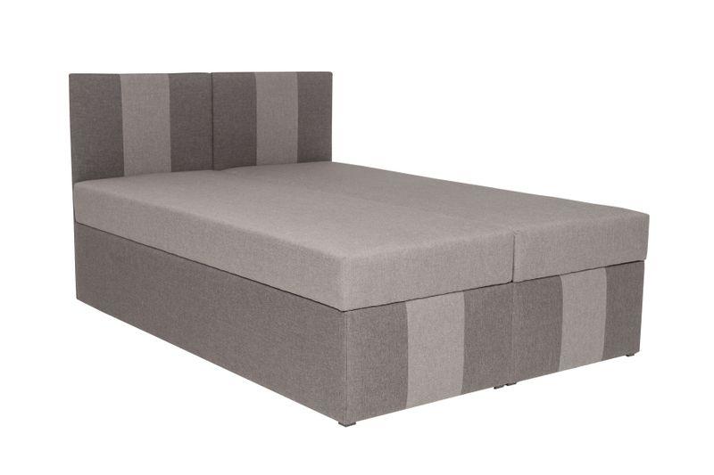 łóżko Tapicerowane 140x200 Materac Dwa Pojemniki łóżka Na Wymiar