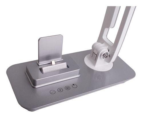 Lampka biurkowa LED 7W FUTURA stacja dokująca micro USB + port USB na Arena.pl