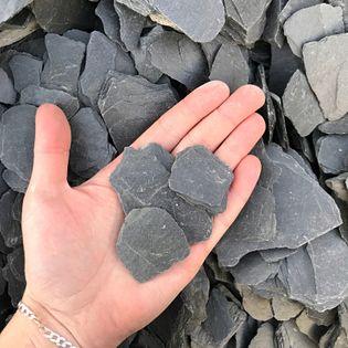Kamień Dekoracyjny Do Domu i Ogrodu Ardesia Nera Grys 30-60 mm 4 KG