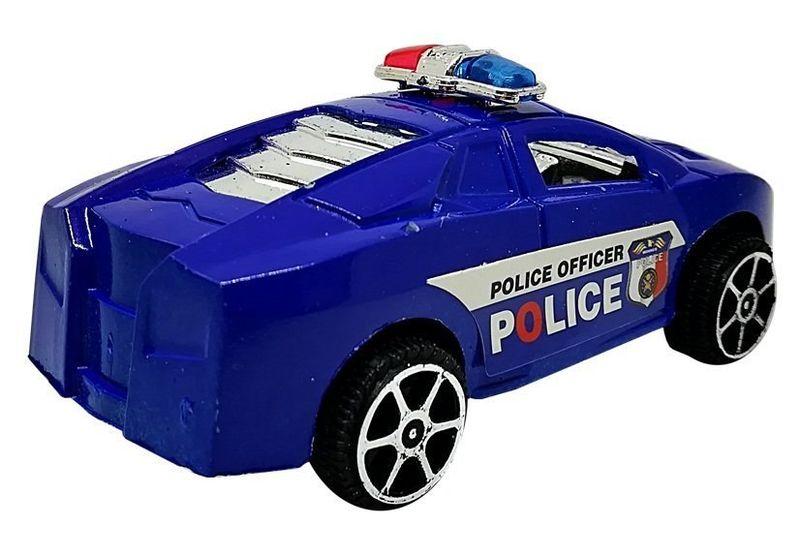 Zestaw Autek Samochodzików Policja Straż Z Napędem 6 Szt na Arena.pl