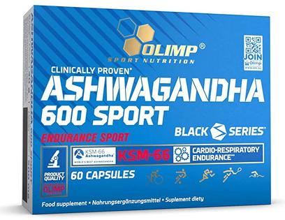 Ashwagandha 600 Sport 60 kapsułek suplement Olimp
