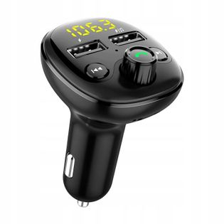 TRANSMITER FM USB ŁADOWARKA BLUETOOTH 5.0 MP3 WMA BT21