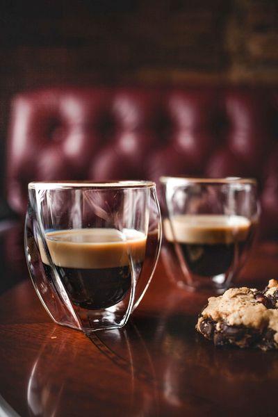 Szklanki Termiczne z Podwójną Ścianką do Kawy Latte Herbaty 250ml 6szt zdjęcie 5