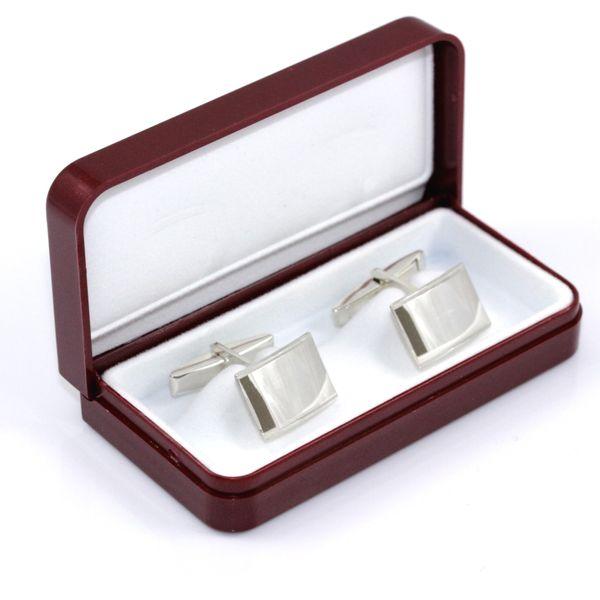 Spinki do mankietów srebro- prezent dla mężczyzny zdjęcie 1