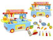 Kuchnia dla dzieci Mobilny Fast Food Truck Mini Bar Gotowanie Y84