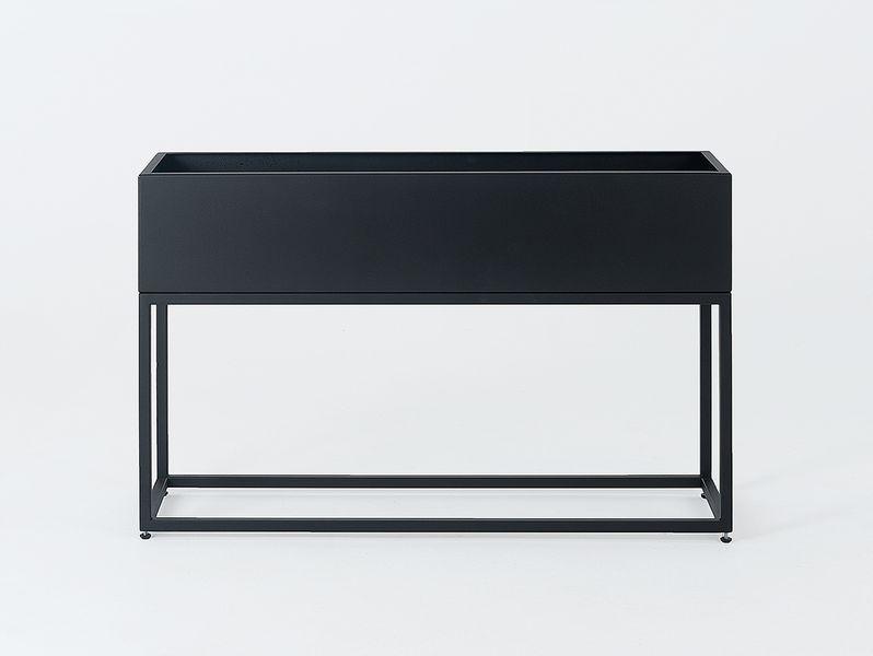 Donica metalowa FIORINA 100x30x60 - czarny zdjęcie 3