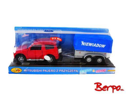Hipo Mitsubishi Pajero z przyczepą 674706 na Arena.pl