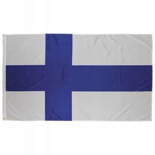 Flaga na maszt 90 x 150 cm Finlandia