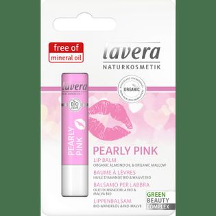 Lavera Balsam Do Ust Rose Perłowy Róż 4,5G
