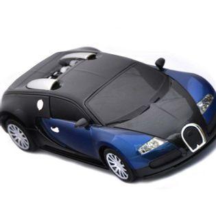 Samochód Rc Bugatti Veyron Licencja 1:24 Niebieski