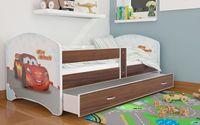 Łóżko LUKI 160x80 szuflada + materac