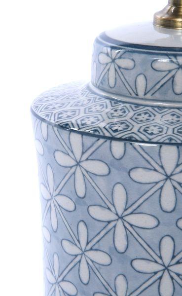 Lampa stołowa z abażurem Anabel 18x18x51cm zdjęcie 7
