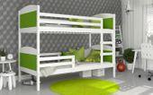 Łóżko piętrowe MATEUSZ COLOR bez szuflady 190x80 + materace zdjęcie 2