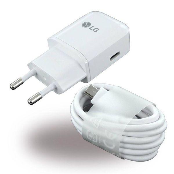 Ładowarka sieciowa LG Fast Charge 3.0A Kabel Typ C MCS N04ER