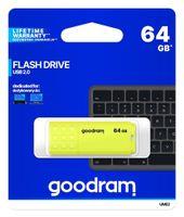 Pendrive (Pamięć Usb) Goodram 64 Gb Usb 2.0 Żółty