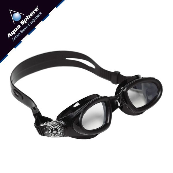 28f1a89d4 Okulary pływackie MAKO Kolor - Aqua Sphere - Mako - EP126114 - czarny /  jasne szkła