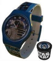 Zegarek dziecięcy Gwiezdne Wojny Star Wars Licencja Disney (41446)