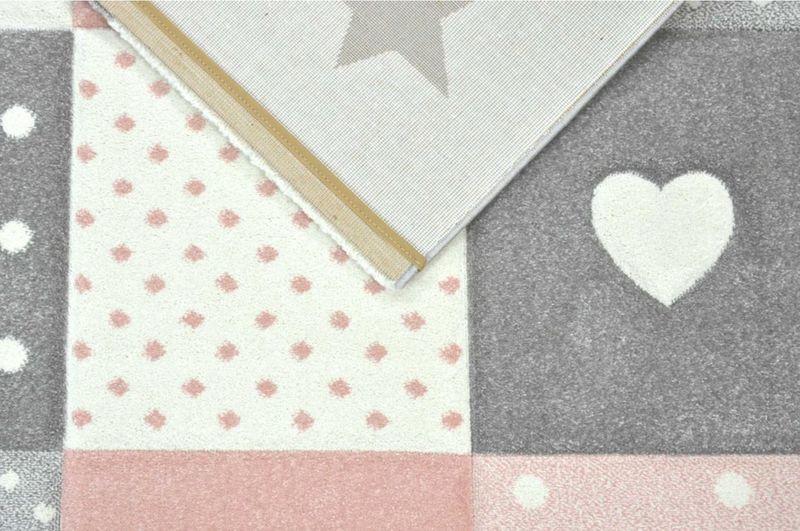 Uroczy dywan dla dzieci Pastel Kids miękki i gęsty 120x170cm zdjęcie 3