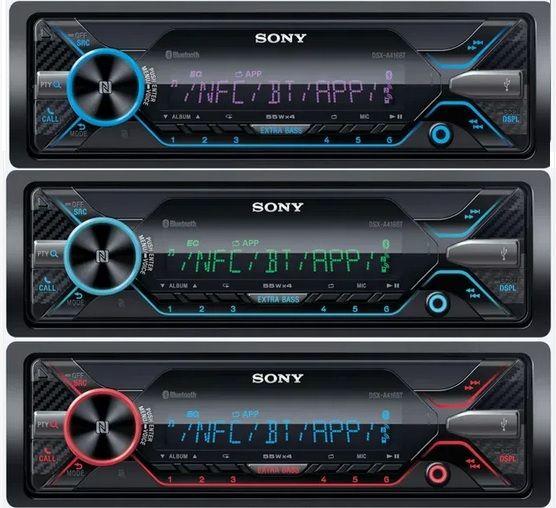 SONY DSX-A416BT Radioodtwarzacz multimedialny z łączem Bluetooth /NFC na Arena.pl