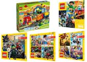 LEGO DUPLO 10508 POCIĄG DUPLO DELUXE + 4 KATALOGI
