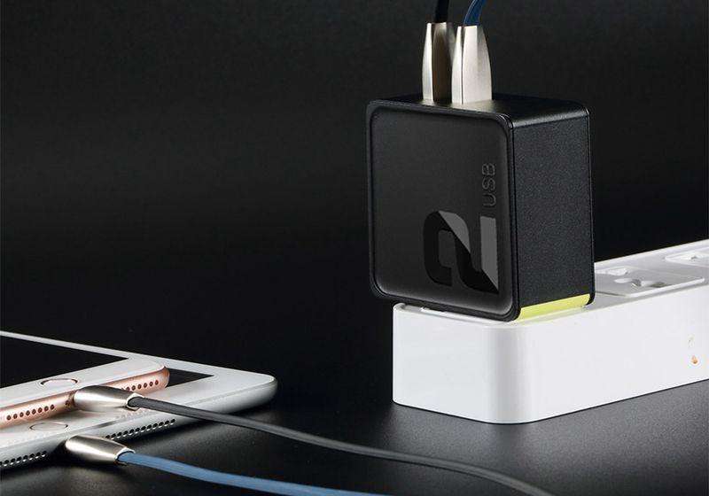 ROCK Ładowarka USB-C Quick Charge + KABEL IPHONE 7 8 X iPad zdjęcie 4