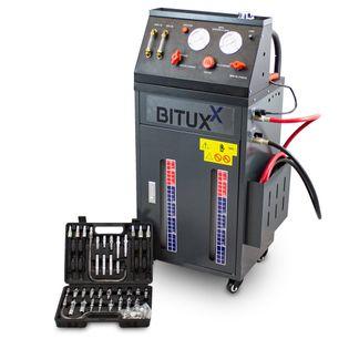 Urządzenie do wymiany oleju w automatycznej skrzyni biegów