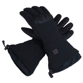 GLOVII, GS7XL,  ogrzewane sportowe rękawice narciarskie z baterią i ładowarką w zestawie, rozmiar: XL