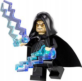 MEGA figurka Star Wars Emperor Sidious +karta lego