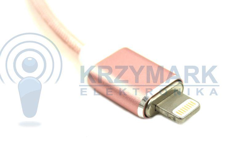 MAGNETYCZNY KABEL USB ŁADOWARKA DO IPHONE 5S 6S 7 na Arena.pl