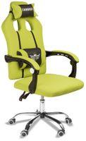 Super fotel gamingowy gracza. Model SL5. Zielony