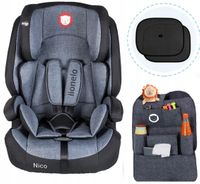 Fotelik samochodowy Lionelo Nico 9-36 kg + Gratisy