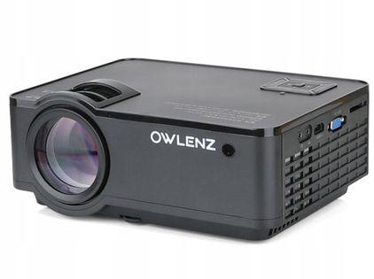 PROJEKTOR OWLENZ SD150 RZUTNIK LED 2500lm ANDROID