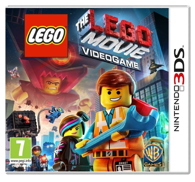 THE LEGO MOVIE PRZYGODA 3DS XL zdjęcie 1
