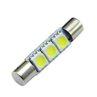 ŻARÓWKA LED TY-T6, T6.3, rurkowa 12V 0,75W CANBUS 31mm 60lm